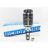 100% высокое качество 55SH II динамический проводной микрофон винтажный стиль вокальный микрофон классический Караоке микрофон/Бесплатная доставка
