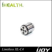 iJoy Limitless XL-C4-Chipspule 0,15 Ohm Vorgefertigte Chip-Lichtspule (50-215W) für Limitless XL RTA 100% Original