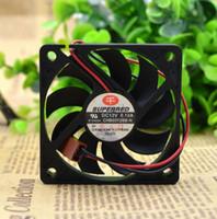 SUPERRED 60 * 60 * 10MM CHB6012BB-N 12V 0.12A 2 선 CPU 냉각 팬