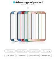 Temperli Cam Samsung Galaxy S10 S9 S8 Artı Not7 S7 Kenar S6 Ön Tam Ekran 3D Eğrisi Ekran Koruyucu