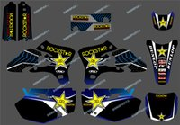 0206 Star New Style TEAM GRAPHICS&BACKGROUNDS DECALS STICKER...