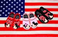 Minnie Mouse Shoes jelly Sandals 3 Color Summer Baby Girls C...