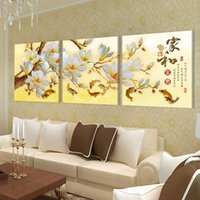 Free shipping 3 Pieces unframed Home decoration Canvas Print...