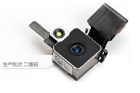 Zurück Hinteres Kameraobjektiv mit Flexkabel-Reparatur für iPhone 4 4g 4G Ersatzteile Schnelle Lieferung