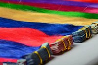 18 20 22 24-Zoll-Band Haar / PU-Haut-einschlag brasilianische menschliche reine remy Doppel Jede Farbe 100 Gramm pro Satz Gezeichnet