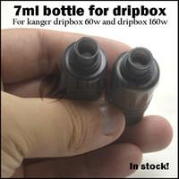 Dripbox botellas 7ml e jugo cigarrillo botella de líquido tanque de repuesto para kanger dripbox 60w kit de inicio 160w subdrip 160 botella de mascota de reemplazo