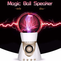 Magic Electrostatic Plasma Ball Bluetooth Speaker, Touch ball...