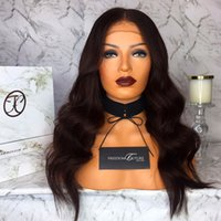 Full Lace Human Hair Wig Wavy Natural Wave Brazilian Virgin ...