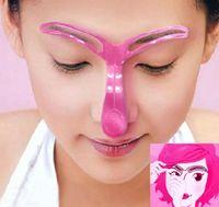 Nuovo stile Grooming sopracciglia dipinte modello Stencil Kit Shaping strumento di styling sopracciglia stencil sopracciglia bellezza fai da te