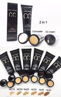 Brands CC Cream Concealer 2 in 1 Prep + Prime SPF35 / PA +++ 50g Professional Face Cosmetics Tools