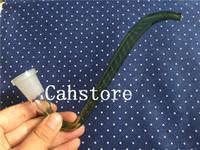 NUEVO adaptador de gancho en J de vidrio - 14 mm 18.8 mm Estilo creativo ganchos en j Tamaño de junta de tubo de vidrio 14 mm 18 mm j-hookah hembra