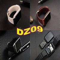 Neueste intelligente Uhr DZ09 Bluetooth Unterstützungs-SIM Karte 1.56 Zoll Smartwatch für Apple Samsung IOS androide intelligente Telefon Uhr U8 geben DHL frei