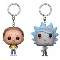 Keychain Avengers Rick And Morty Action Figure Bobble Head Q...