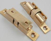 Toque de porta de móveis cartão de cobre magnética talão da porta da cozinha clipe magnético ambry peito toque 2 pacote