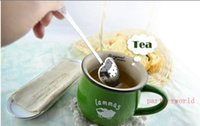 """2015 Hot Spring """"Tea Time"""" Conveniencia corazón infusión de té corazón en forma de infusor de hierbas té infusor filtro de la cuchara envío gratis"""