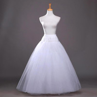 2016 New Hot Summer A Line White Wedding Petticoats Underdre...