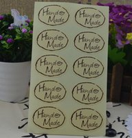 500sheets (5000pcs) 손으로 만든 잎 타원 씰링 스티커 장식 DIY 스크랩북 봉투 선물 패키지에 대 한