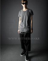 Man Han Edition Stylist Englisch Japanisch Flut Reithosen Haroun Hosen, Röcke Hosen Hosen Casual Pants / 27-37
