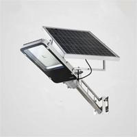 30 W Işık Kontrolü döküm Alüminyum Otomatik Güneş Enerjisi LED Sokak Işık Açık Su Geçirmez Bahçe Parkı Duvar Lambası Aydınlatma