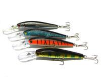 Hengjia гольян рыболовные приманки 30 шт. / лот 4 цвета 12.5 см / 14 г 4#высокоуглеродистый крюк глубокий дайвинг рыбалка жесткий пластиковые приманки (MI053)