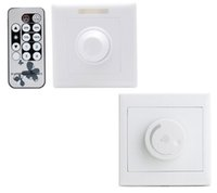 Triac Remoter LED Dimmer Switch 110V 220V Wall Mount with Re...