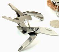 Pocket Multi Function Tools Set Mini Foldaway Keychain Pinze Coltello Cacciavite