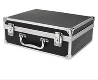 Wholesale- Sodial large tattoo kit carrying case with lock bl...