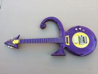 فريد غيتار نادر على شكل غيتار لامع البنفسجي الأمير رمز الكتريك جيتار روز فلويد جسر اهتزاز الذهب الأجهزة مبيعا