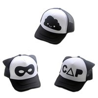 kids hats letter print fashion cartoon boys girls snapback c...