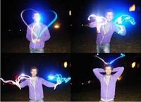 بالجملة - Chistmas هدية الصمام مشرق البنصر أضواء LED الوهج أصابع اللعب أضواء الاصبع 4 ألوان 50PCS / الكثير # 08