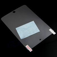 Limpar lcd pet protetor de tela film guarda para ipad air 2 3 4 mini 2 3 4 pro 9.7 10.5 película protetora