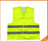 높은 가시성 작업 안전 건설 조끼 경고 반사 트래픽 작업 조끼 녹색 반사 안전 의류 LJJC1792 50PCS