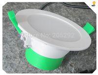 Downlight 12Watt LED Downlight Kit complet design italien Dimmable lampe plastique + kit de downlights de LED de corps en aluminium avec fil de courant australien de 1,2 m