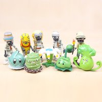 Plants vs Zombies PVZ Ancient Egypt Figure Toys 10pcs Set 2-3inch