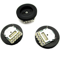 The new B503 50K 18 * 2MM 5 foot double potentiometer volume control dial gear turbo potentiometer