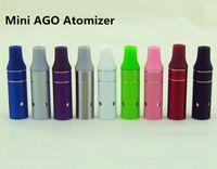 2016 핫 미니 AGO G5 탱크 기화기 건식 허브 분무기 AGO g5 Clearomizer Fit 전자 담배 eGo EVOD 배터리 다채로운 DHL