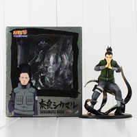 Naruto Nara Shikamaru PVC-Tätigkeits-Abbildung sammelbares vorbildliches Abbildung Spielzeug für Kindgeschenk geben Verschiffeneinzelverkauf frei