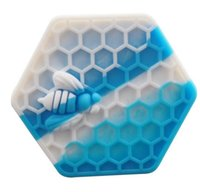 Stock in USA! 5pcs lot honeybee hexagon Silicone Container J...