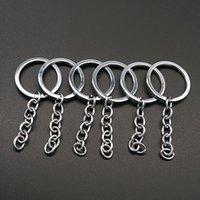 Hot sale 20pcs Key Ring Key Chain Stainless steel 30x70mm Ro...