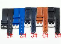22mm BLIGER De Borracha / Couro Faixas De Relógios De Pulso Correias Pulseira de Alta Qualidade Pulseiras de Relógio P459