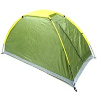 Camping Tent Single Layer Outdoor Portable UV- resistant
