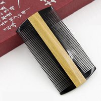 Horn Wood Pocket Hair Comb Beard Mustache Comb Wholesale Hig...