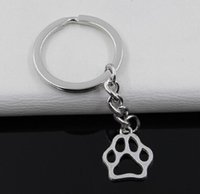 Fashion 20pcs Key Ring Keychain Jewelry Silver Plated dog be...