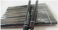 12 adet / grup Pro Marka Makyaj Döner Geri Çekilebilir Siyah Jel Eyeliner Güzellik Kalem Kalem Eyeliner