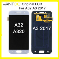 Nuovo display LCD originale con Touch Screen Digitizer Assembly per Samsung Galaxy A32 A320 A3 2017 sostituzione del pannello DHL gratuito