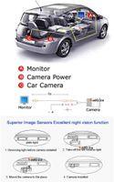 Для Audi TT / TTS автомобильная камера заднего вида / резервная парковочная камера HD CCD ночного видения C-1002-TT