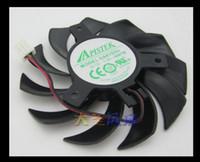 온다 그래픽 카드 냉각 팬 EEPA 원래 APISTEK GA81S2U - NNTB DC12V 직경 0.38A 피치 40MM