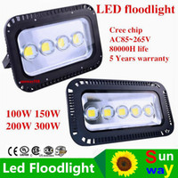 led flood lights outdoors 100W 150W 200W 300W Led Floodlight...