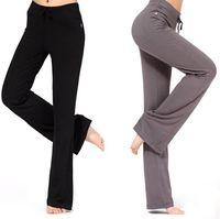 Gros-2016 nouvelles femmes pantalons de harem occasionnels taille haute pantalons de sport Hip Hop danse costumes pantalons de formation de yoga pantalons de survêtement, plus la taille
