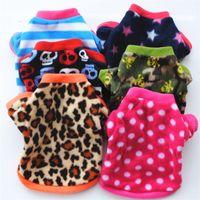 Hiver Spring Hiver Chien Vêtements Manteaux Coton Soft Coton Polaire Porter des vestes Automne Cats Chihuahua Beautiful Petit Pet Products Fournitures